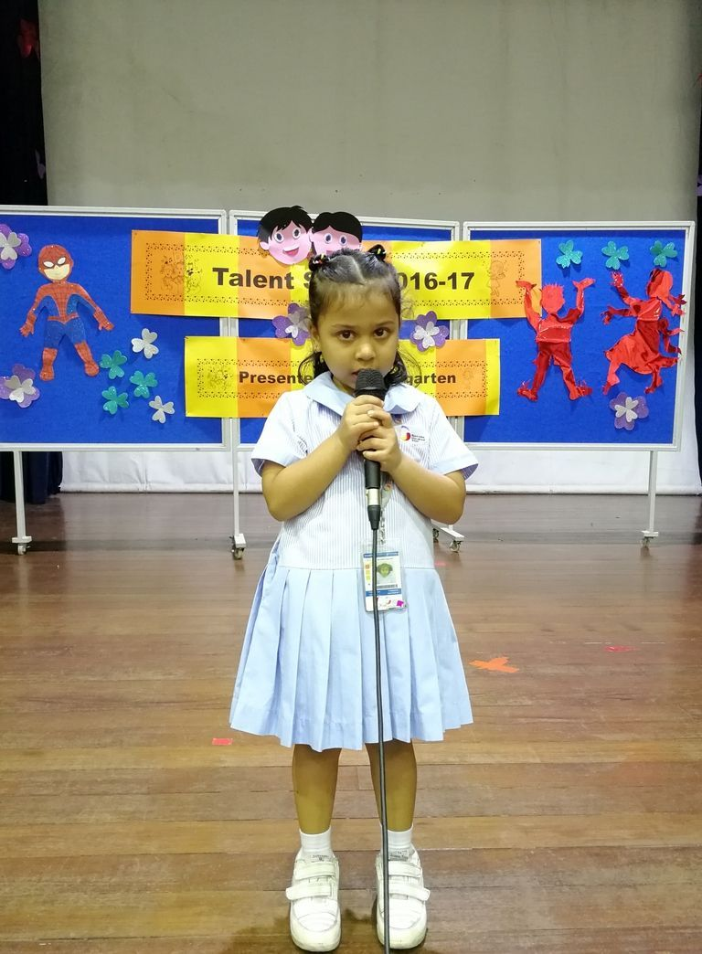 GIIS Balestier students outshine at the Montessori Talent Week