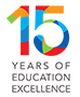 15 years of education excellence